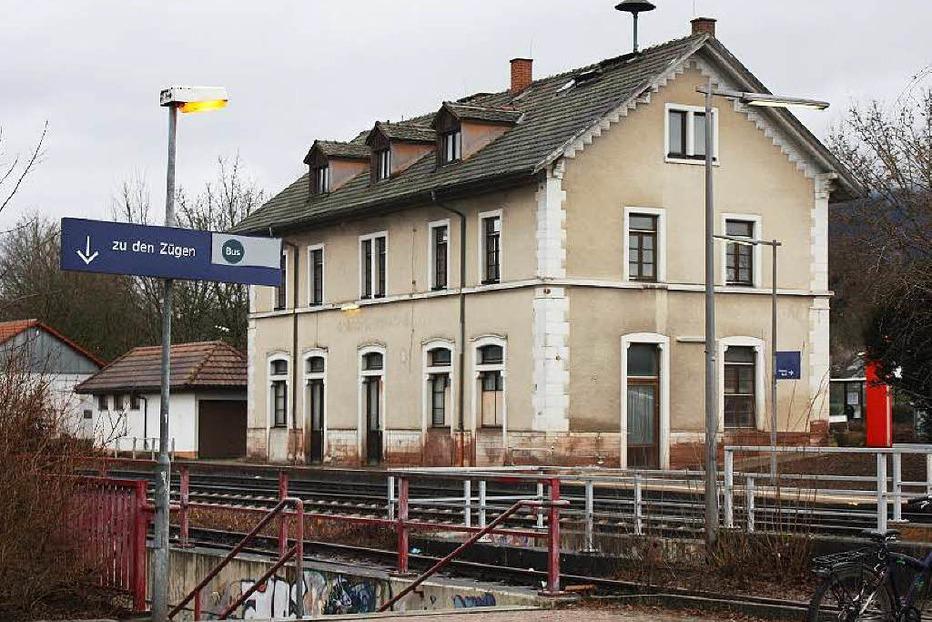 Bahnhof Brennet - Wehr