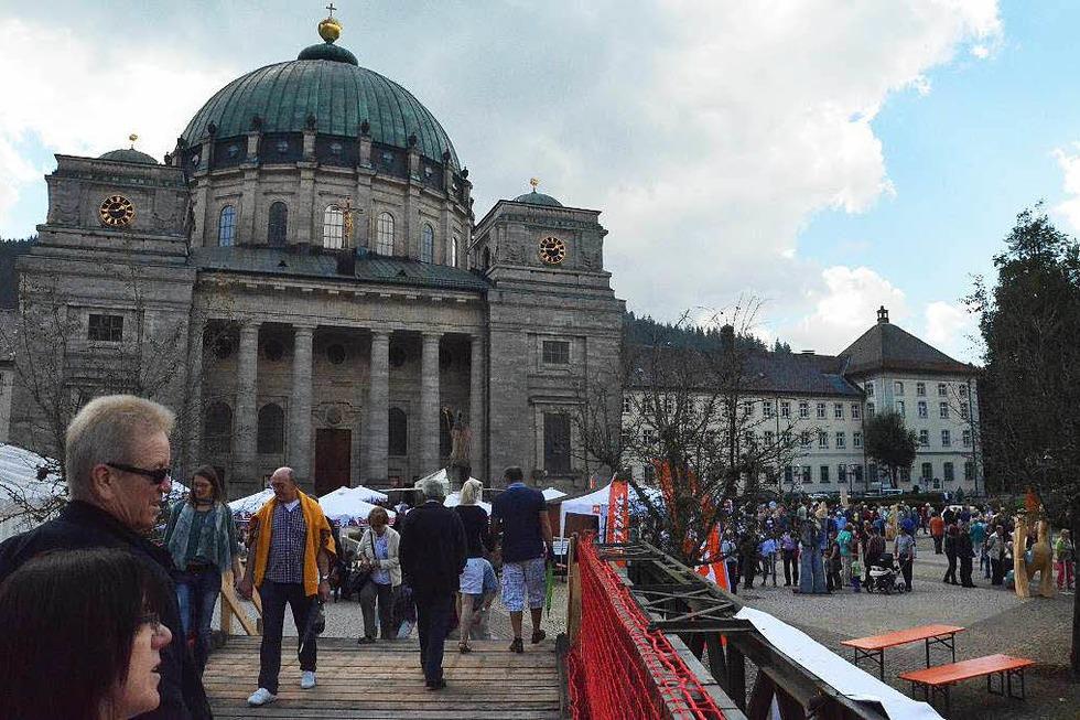 Domplatz - St. Blasien