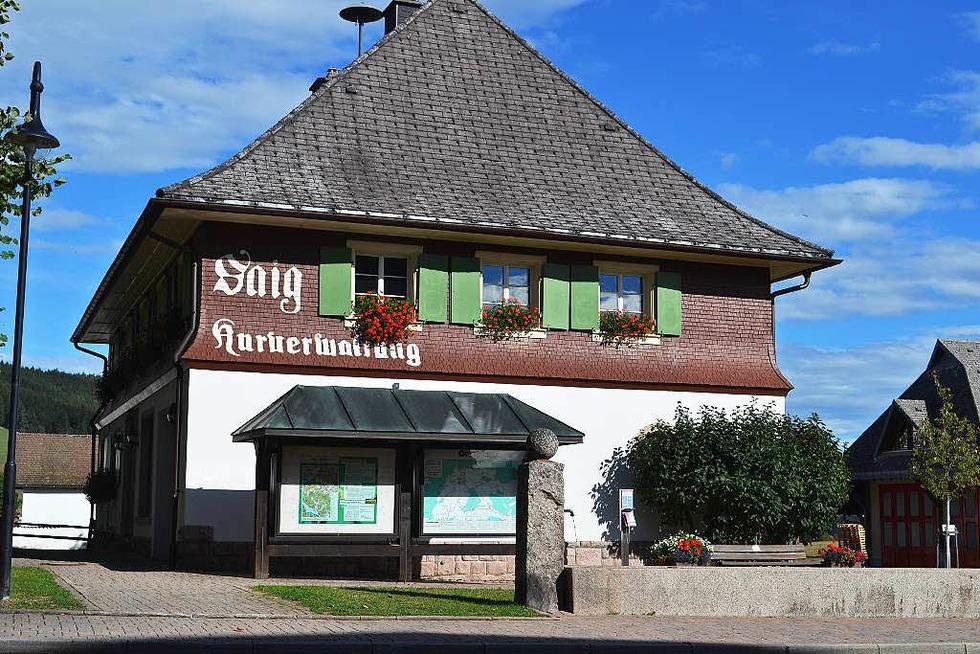 Ehemaliges Rathaus Saig - Lenzkirch