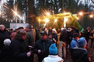 Sechshöflerhütte im Gündlinger Wald
