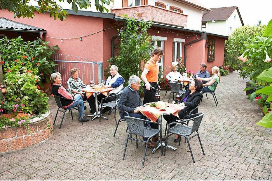 Weinlaube Bürkle - Mahlberg