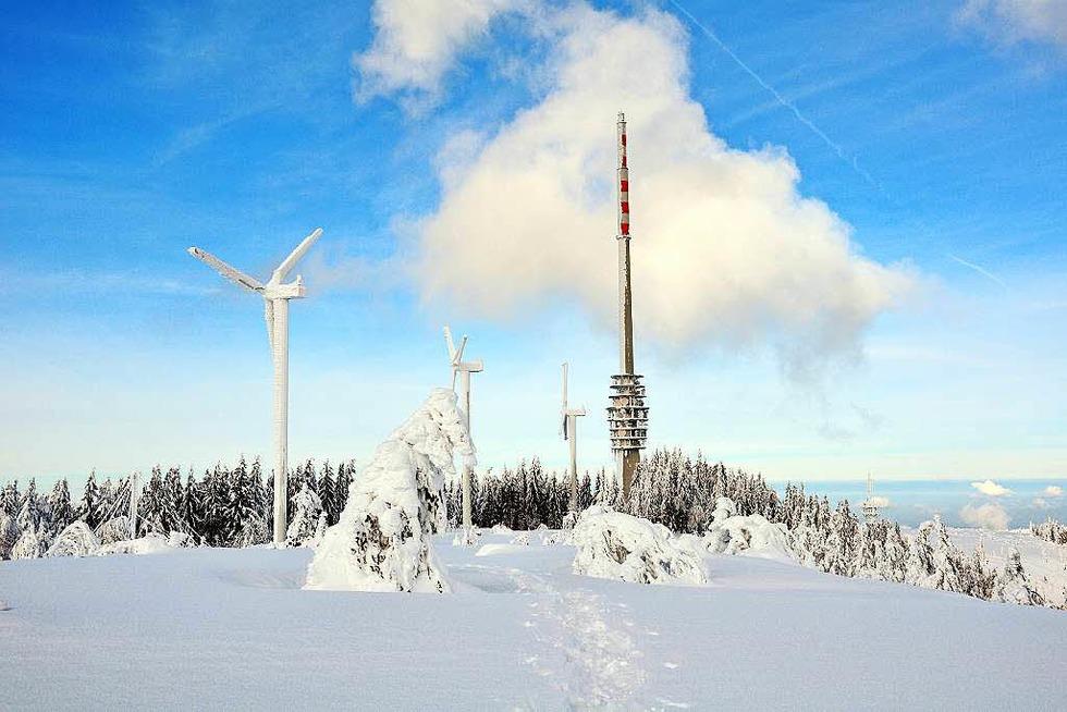 SWR-Funkturm (Hornisgrinde) - Sasbachwalden