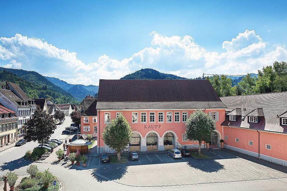 Altes Schloss am Marktplatz - Sulzburg