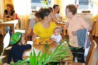 Familiencafé bei Thomas (Zähringen)