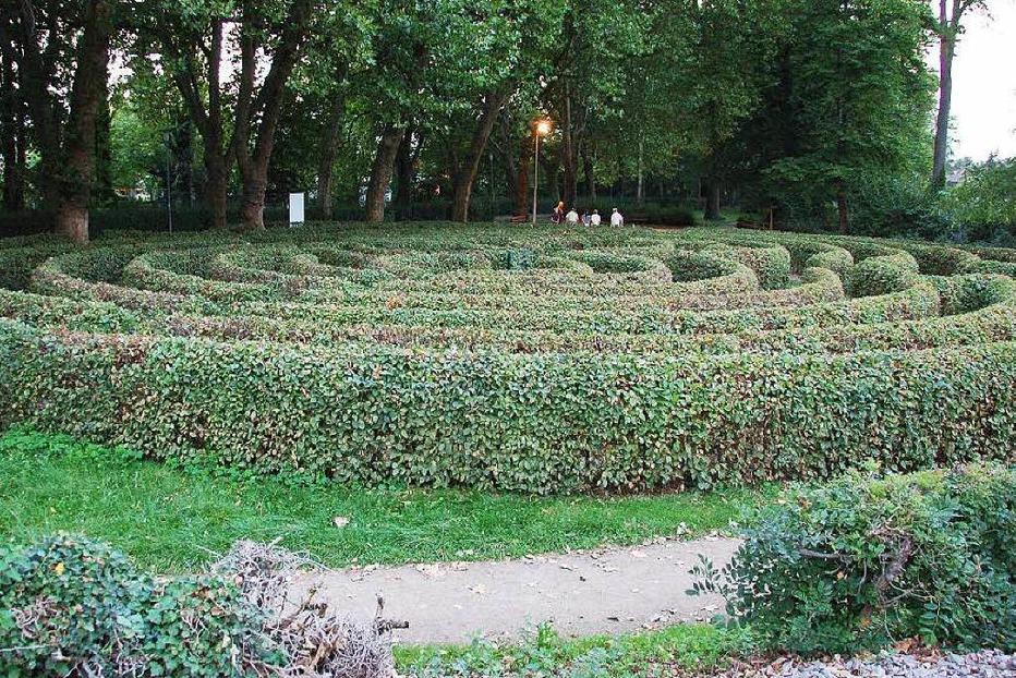 Labyrinth am Stadtsee-Park - Staufen