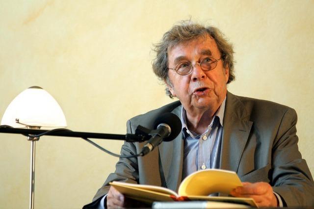 Hellmuth Karasek: Komödiant unter den Literaturkritikern
