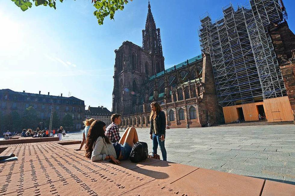 Münsterplatz - Straßburg