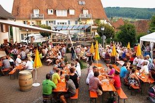 Dorfplatz Obereggenen