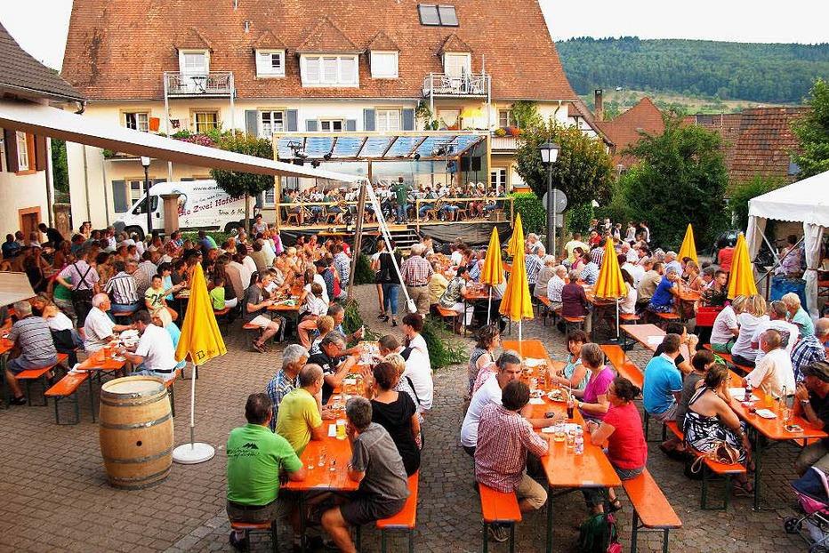 Dorfplatz Obereggenen - Schliengen