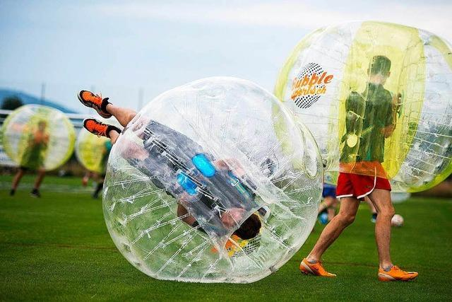 Bubble Football Südbaden