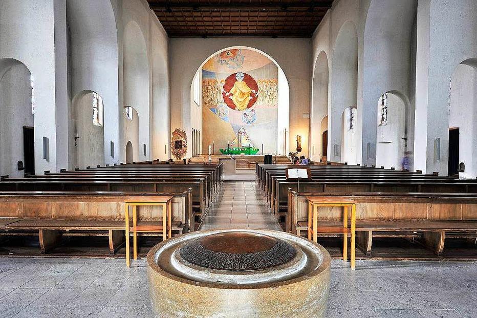 Kath. Kirche Heilige Dreifaltigkeit - Freiburg