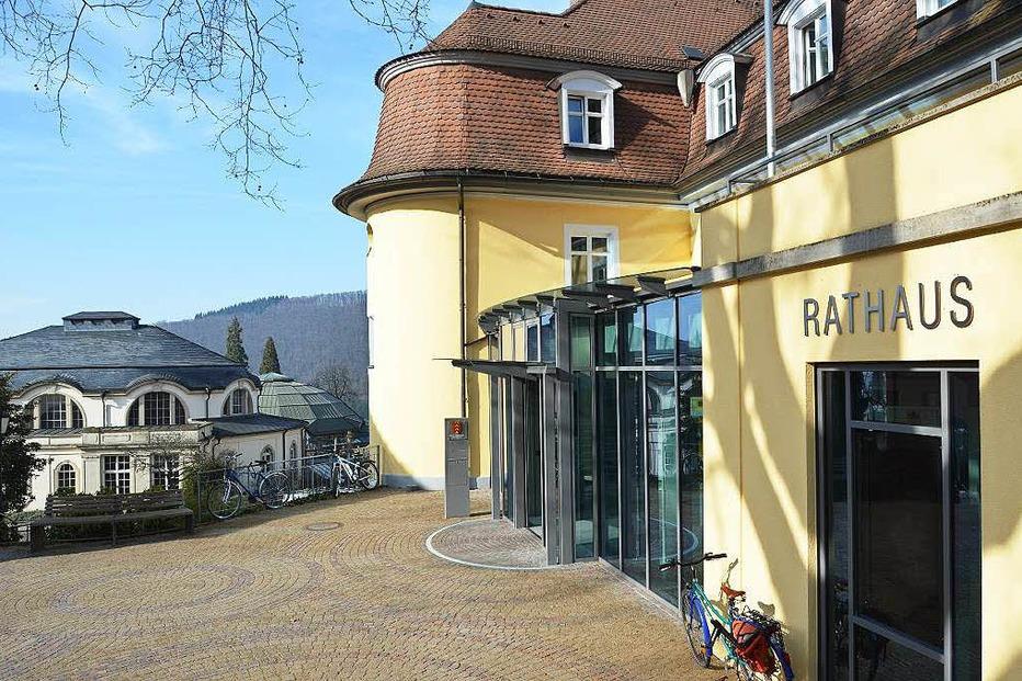 Rathaus - Badenweiler