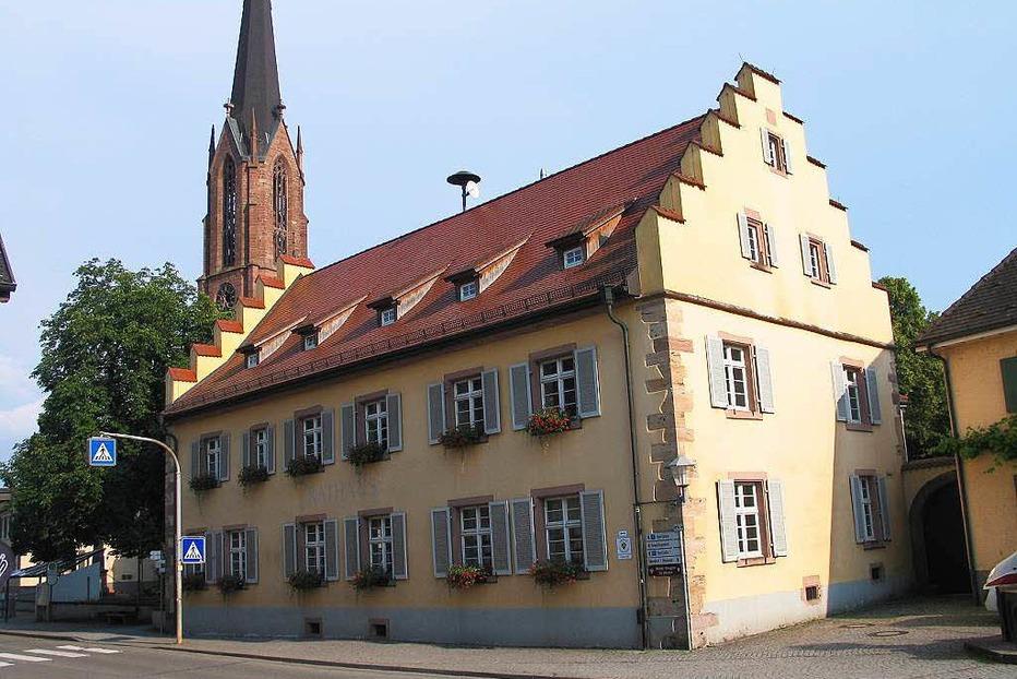 Rathaus - Eichstetten