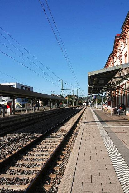 Bahnhof - Schopfheim