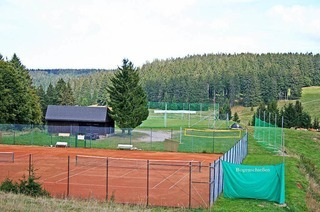 Tennispl�tze Todtnauberg