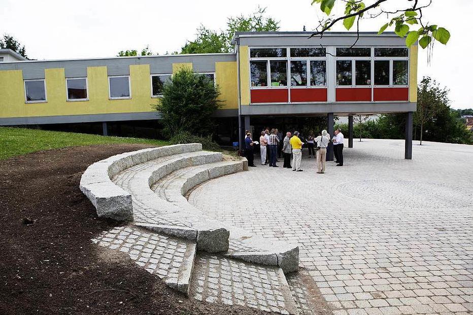 Schulhof Heiligenzell - Friesenheim