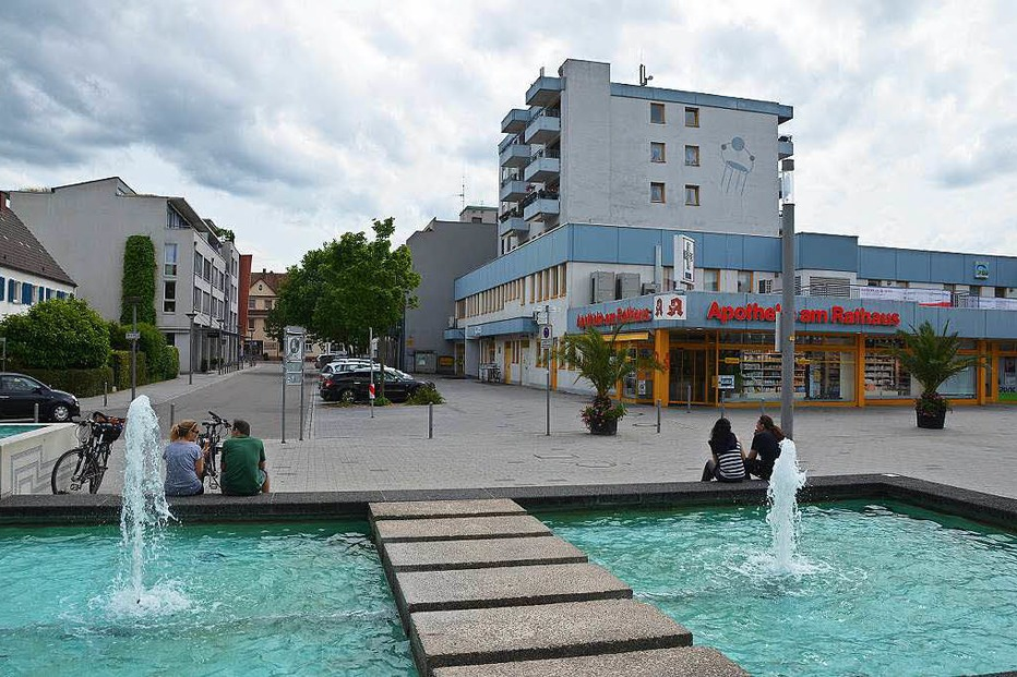 Rathausplatz - Weil am Rhein