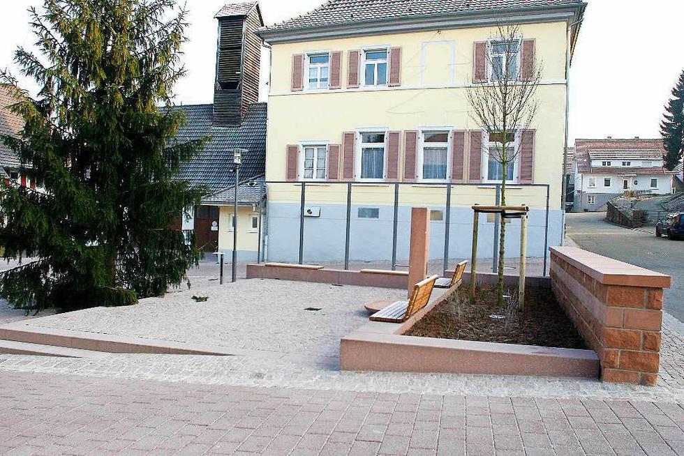 Rathausplatz Oberschopfheim - Friesenheim
