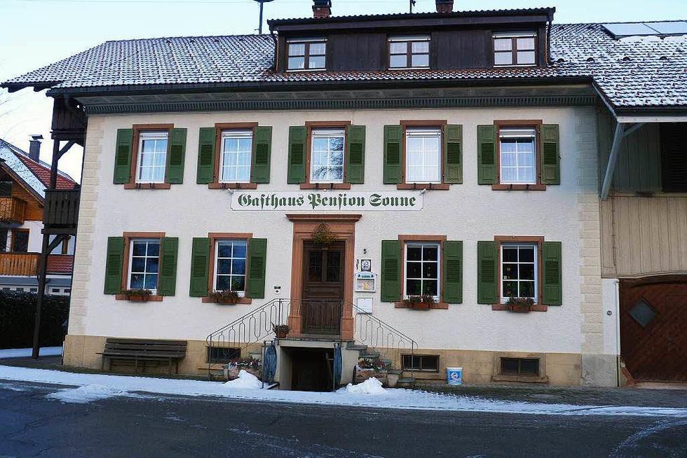 Gasthaus Sonne (Riedichen) - Zell im Wiesental