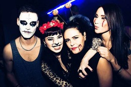 Fotos: Halloween-Party im Hans-Bunte-Areal in Freiburg
