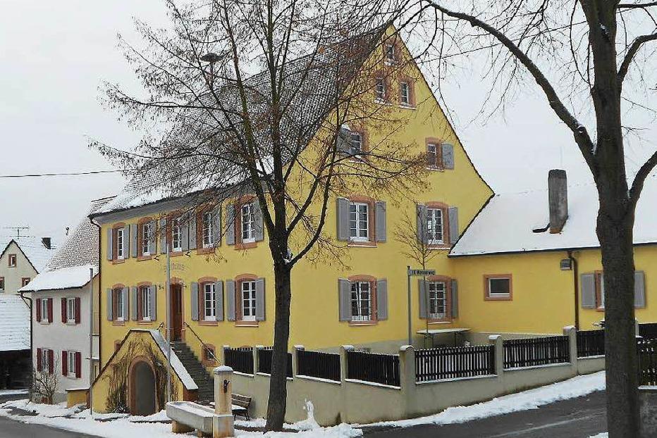 Rathaus Wintersweiler - Efringen-Kirchen