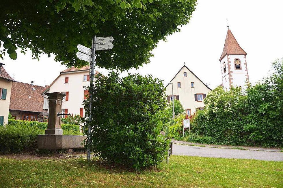 Ev. Kirche Wintersweiler - Efringen-Kirchen