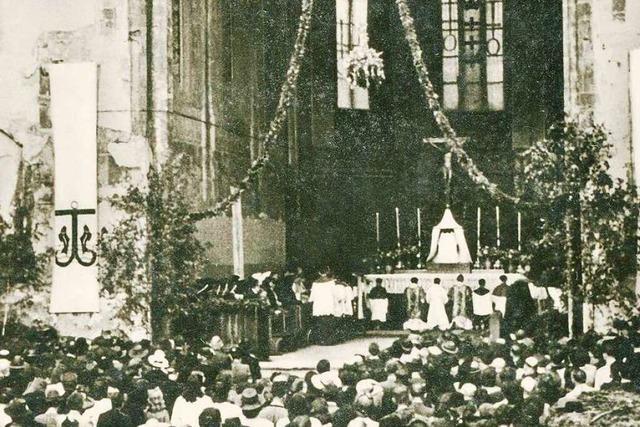 Wie Freiburger Kirchen nach der Zerstörung wieder aufgebaut wurden