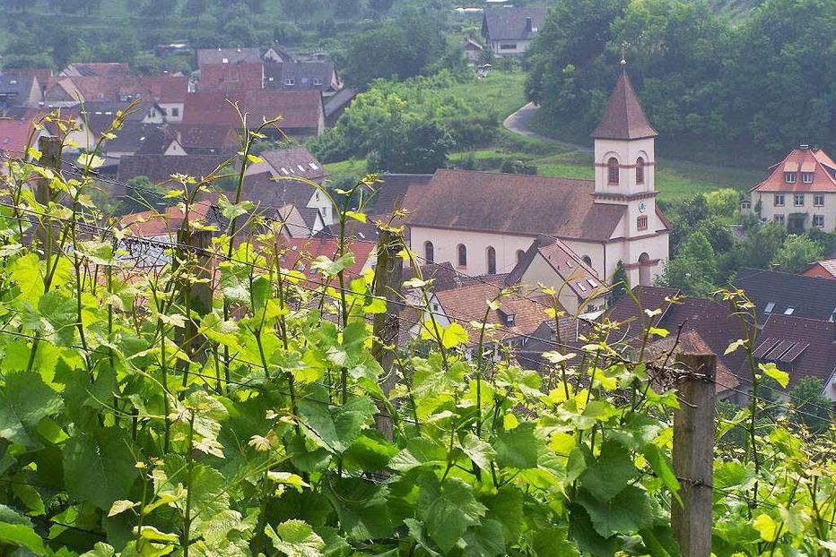 Kath. Pfarrkirche St. Georg (Achkarren) - Vogtsburg