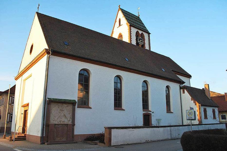 Kath. Pfarrkirche St. Mauritius (Oberbergen) - Vogtsburg