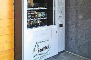 Selbstbedienungsautomat Tännlehof