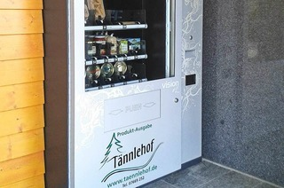 Selbstbedienungsautomat T�nnlehof
