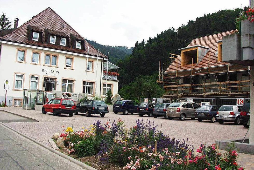 Rathausplatz - Buchenbach