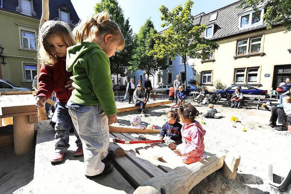 Spielplatz Annaplatz (Wiehre) - Freiburg