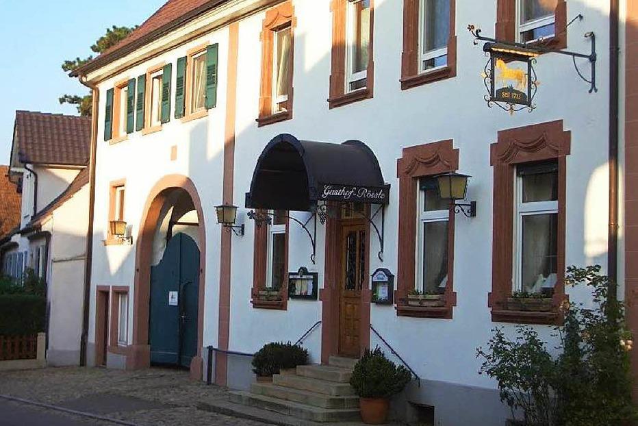 Gasthaus Rössle (Wolfenweiler) - Schallstadt