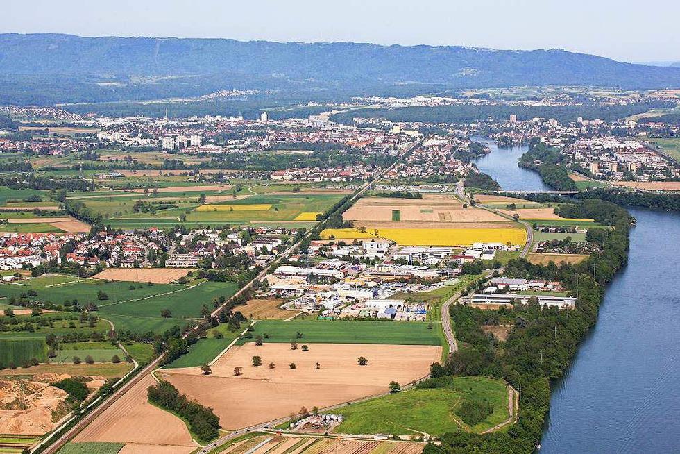 Gewerbegebiet Herten - Rheinfelden