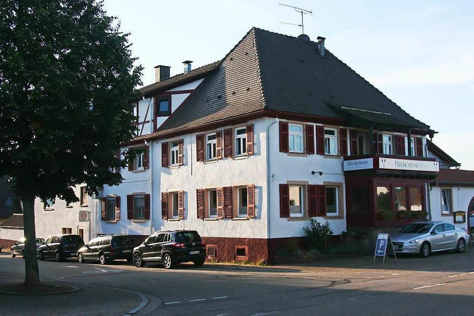 Gasthaus Heckenrose - Ringsheim