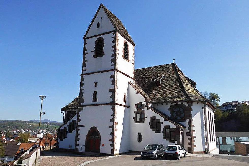 Evangelische Kirche - Lörrach