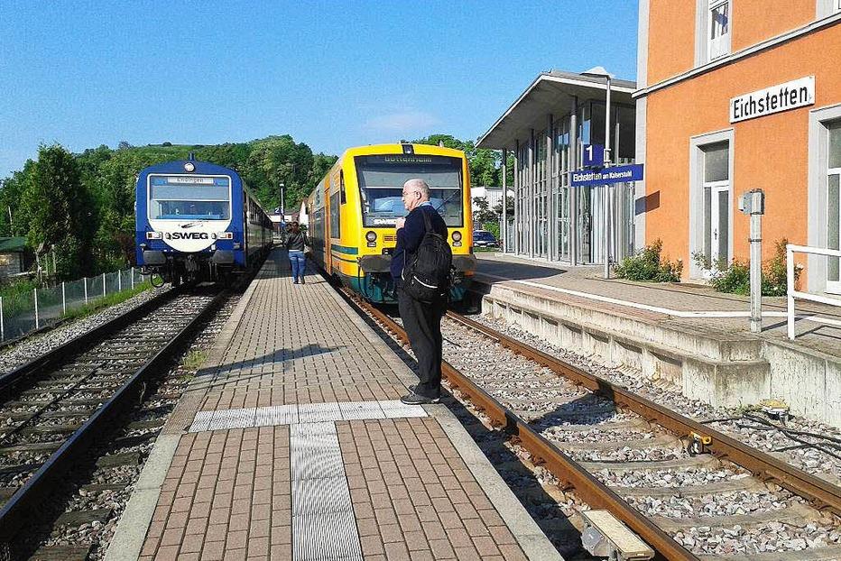 Bahnhof - Eichstetten