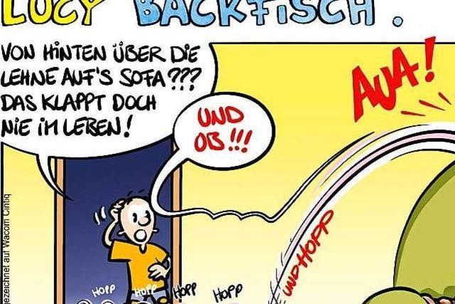 Lucy Backfisch: Autsch!