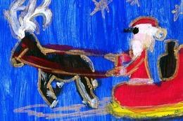 Kinder helfen Kindern – Weihnachtskartenwettbewerb 2015