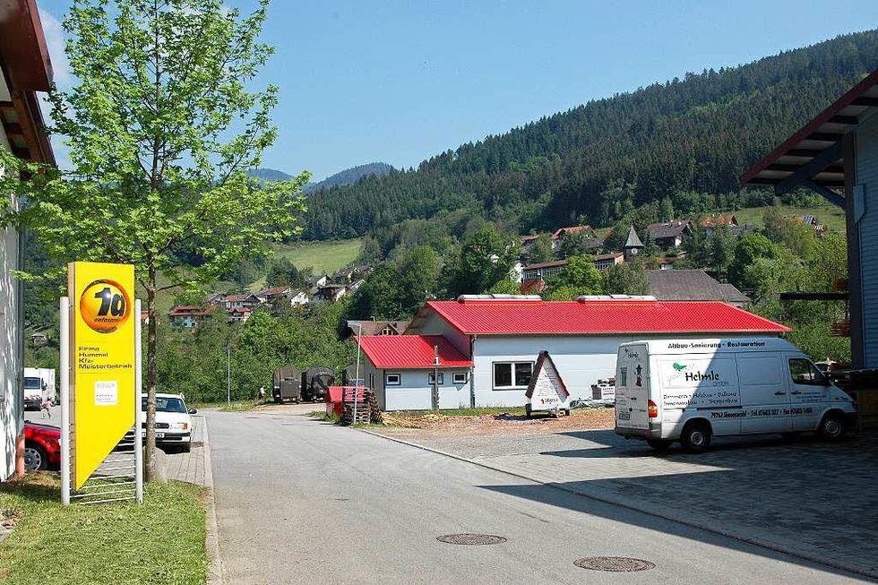 Gewerbegebiet Häuslerain - Simonswald