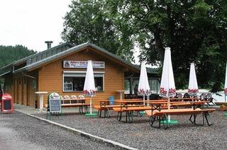 Müllers Biergarten an der Staumauer