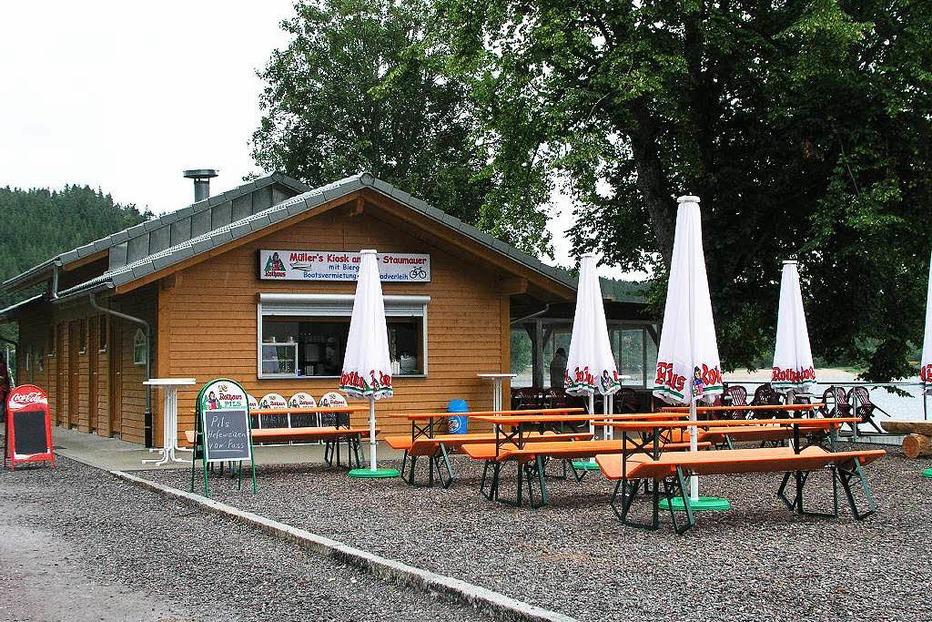 Müllers Biergarten an der Staumauer - Schluchsee