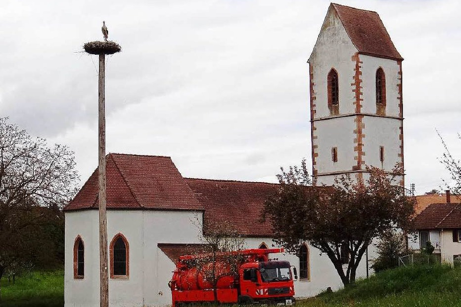 Ev. Kirche St. Peter Blansingen - Efringen-Kirchen