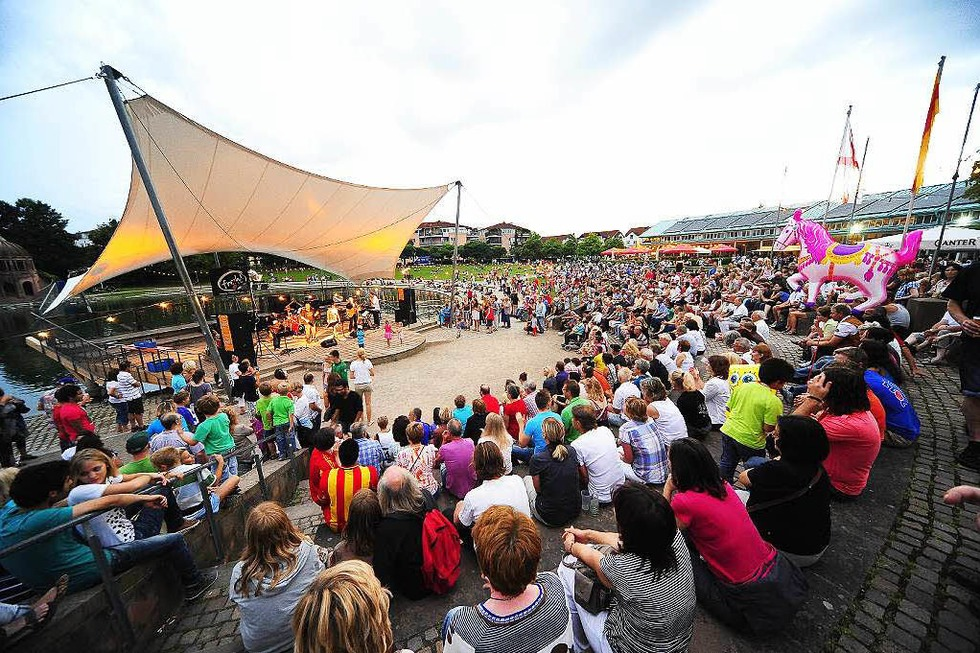 Seebühne (Seepark) - Freiburg