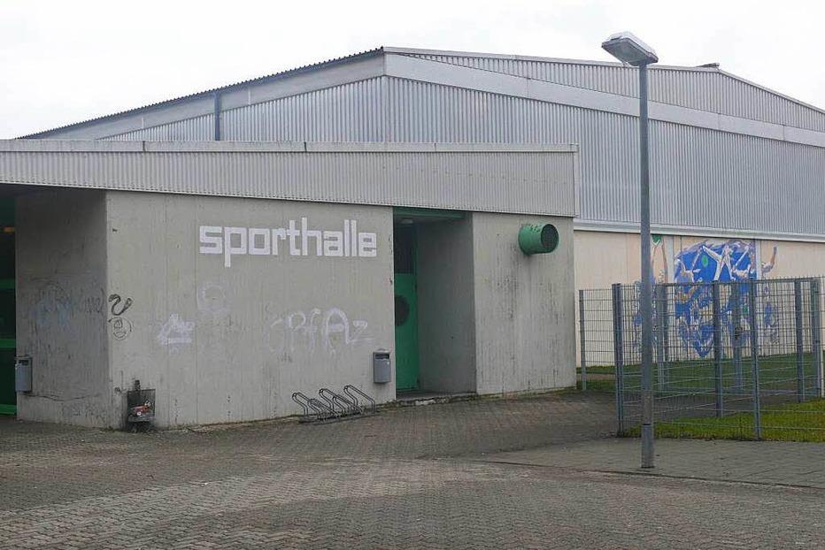 Sporthalle Köchlinstraße - Steinen