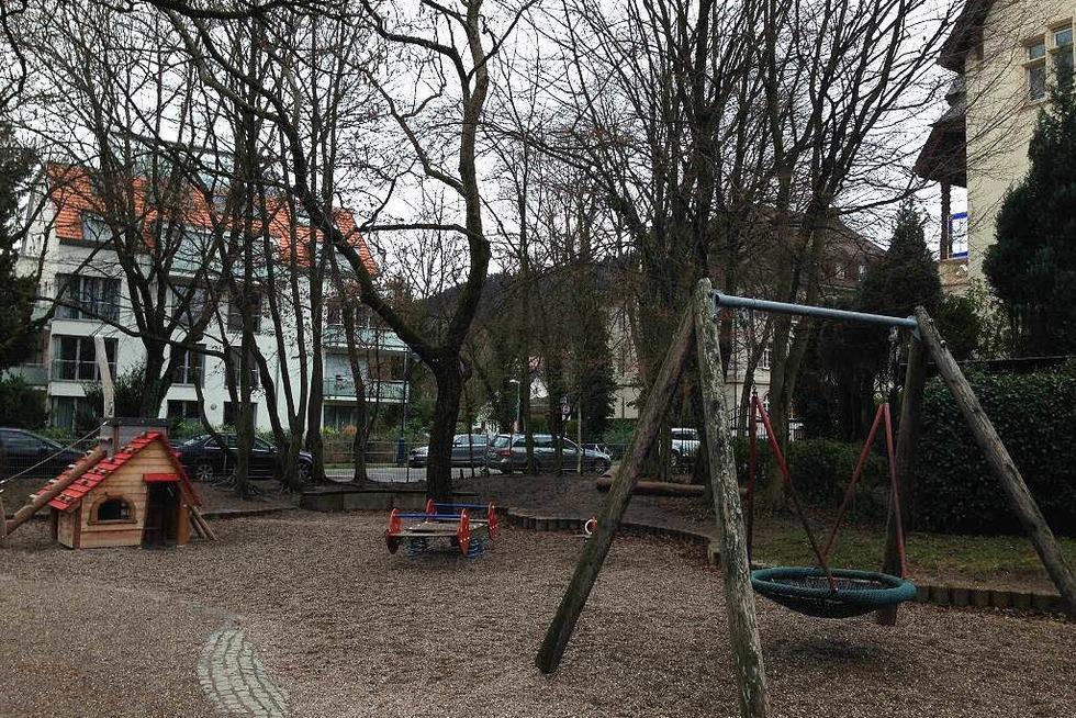Spielplatz Goethestraße (Wiehre) - Freiburg