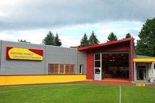 R�diger-Hurrle-Leichtathletikhalle