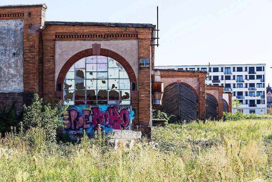 G�terbahnhofshalle - Freiburg