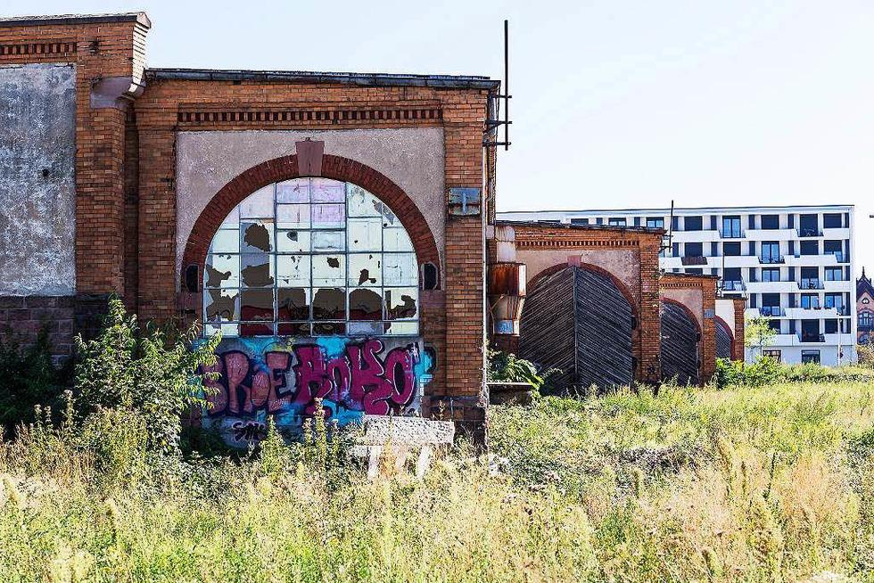 Güterbahnhofshalle - Freiburg